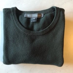 French Connection Dark Green Sweater